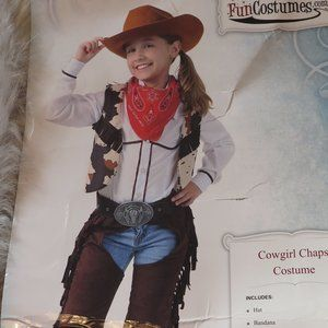 COWGIRL COSTUME (LARGE)